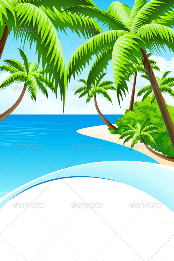GraphicRiver Summer Vacation Background 4516394