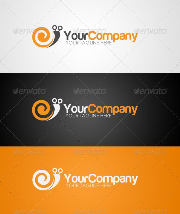 GraphicRiver Snail Logo 4487341
