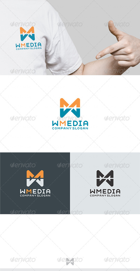 GraphicRiver Web Media Logo 4485401