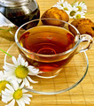 Herbal tea with daisies and kettle - PhotoDune Item for Sale