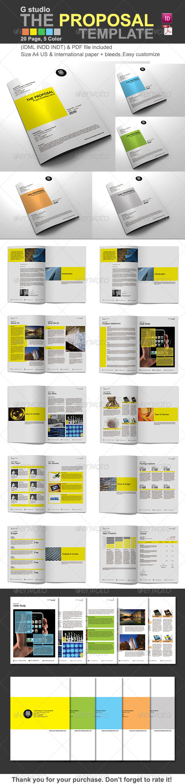 GraphicRiver Gstudio The Proposal Template 4519732