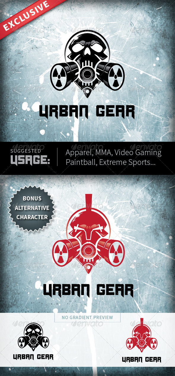 GraphicRiver Urban Gear 4486486