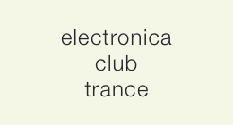 electronica/club/trance