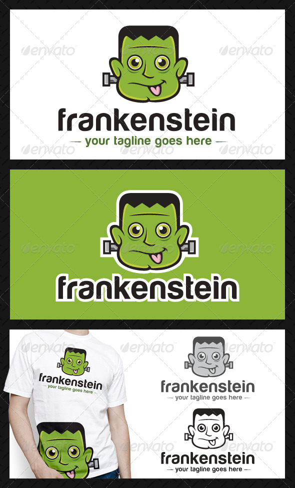 GraphicRiver Frankenstein Logo Template 4520131