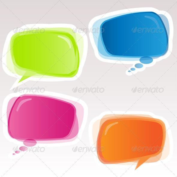GraphicRiver Speech Bubbles 4520224