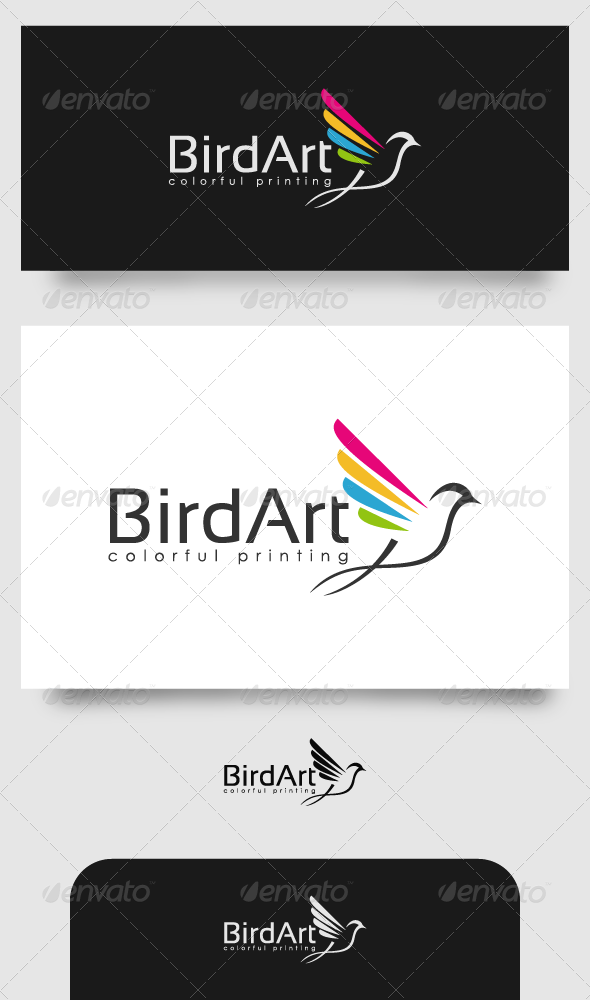 GraphicRiver Bird Art Printing 4520300