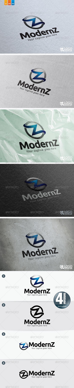 Modern Z - Letters Logo Templates