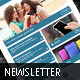Corrie Newsletter - GraphicRiver Item for Sale