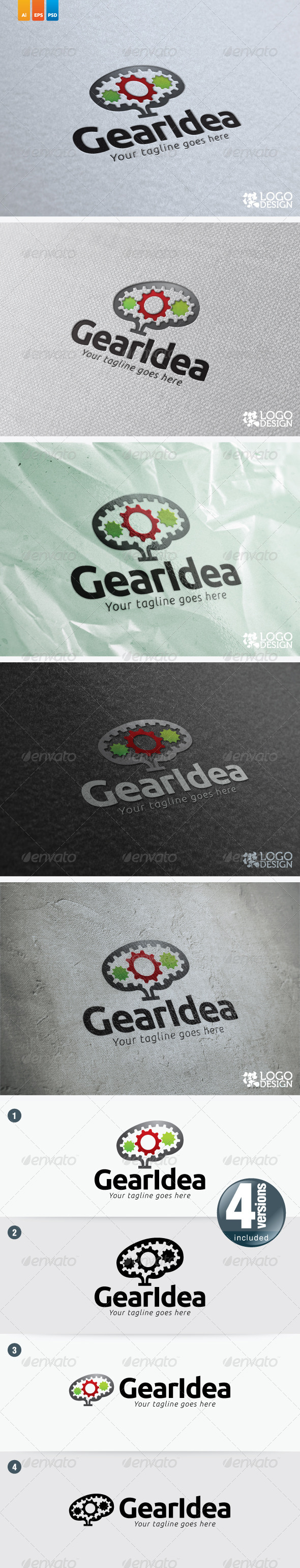 GearIdea - Objects Logo Templates