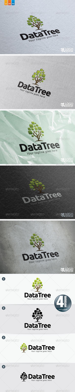 Data Tree - Nature Logo Templates