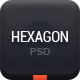Hexagon - Creative PSD theme