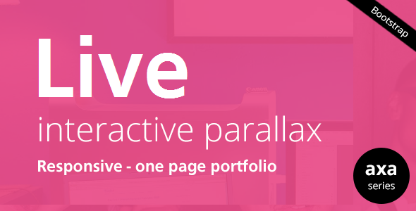 LIVE - Interactive Parallax - Responsive HTML5