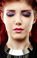 Redhead with beautiful makeup - PhotoDune Item for Sale