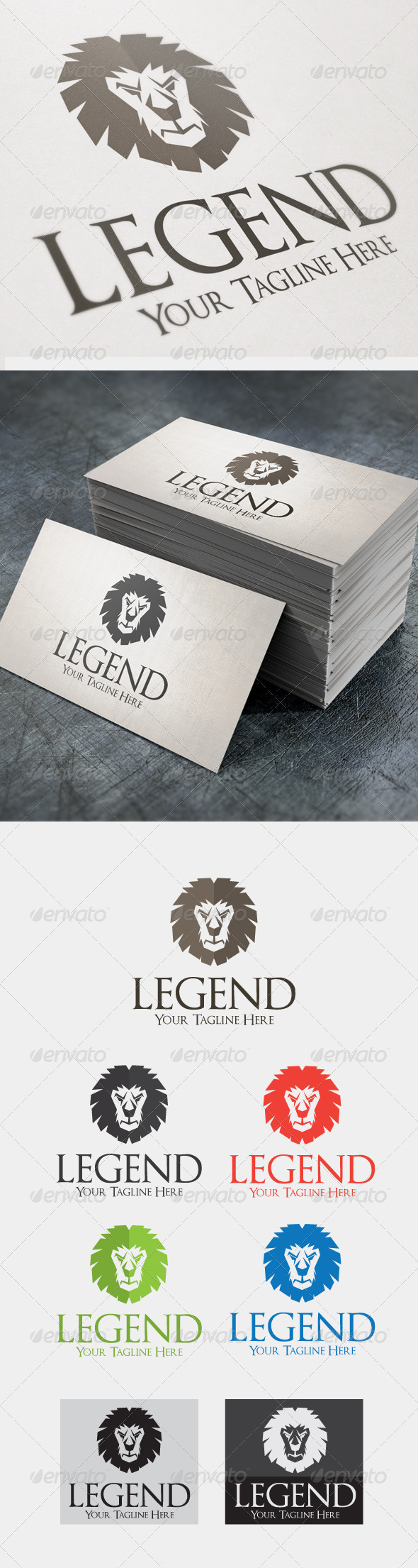 GraphicRiver Legend 4521528