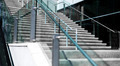 Stairs outside with glass railings - PhotoDune Item for Sale