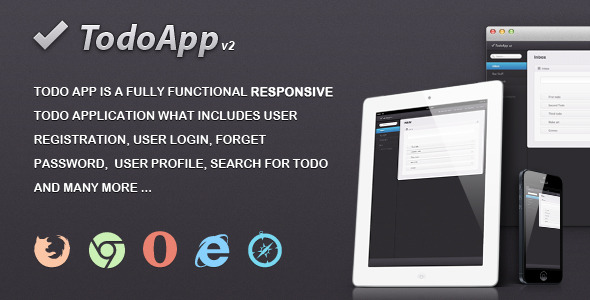 Todo App - CodeCanyon Item for Sale