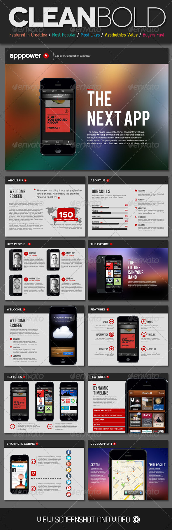 GraphicRiver App Power PowerPoint Template 4523104