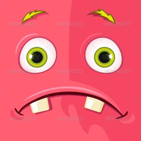 GraphicRiver Monster Avatar 4523139