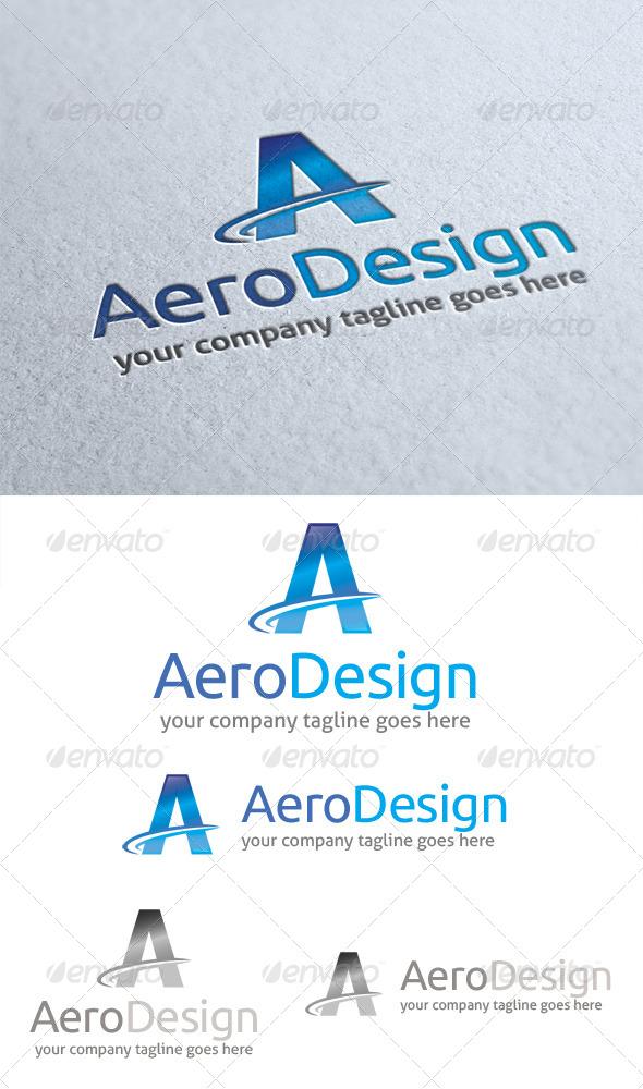 Aero design logo graphicriver for Vehicle swept path templates