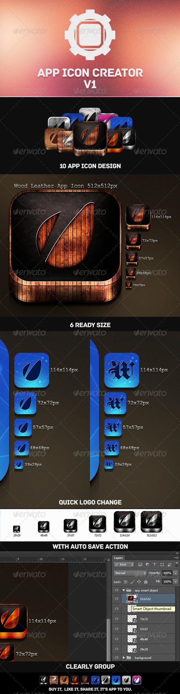 GraphicRiver App Icon Creator V1 4523415