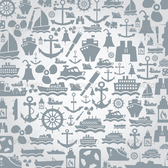 Ship a background - Stock Photo - Images