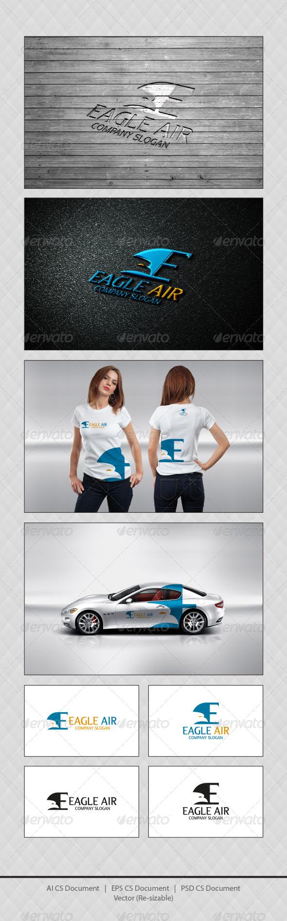 GraphicRiver Eagle Air E Logo Templates 4523994