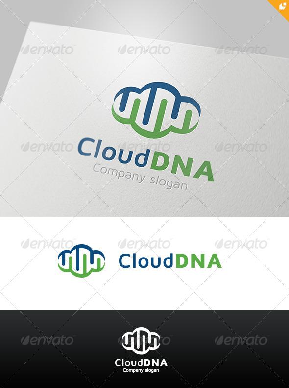 GraphicRiver Cloud DNA Logo 4524273
