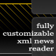 Fully Customizable XML News Reader - ActiveDen Item for Sale