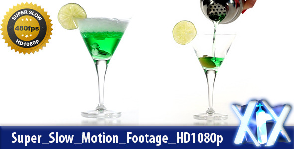 Pouring Cocktail 480fps