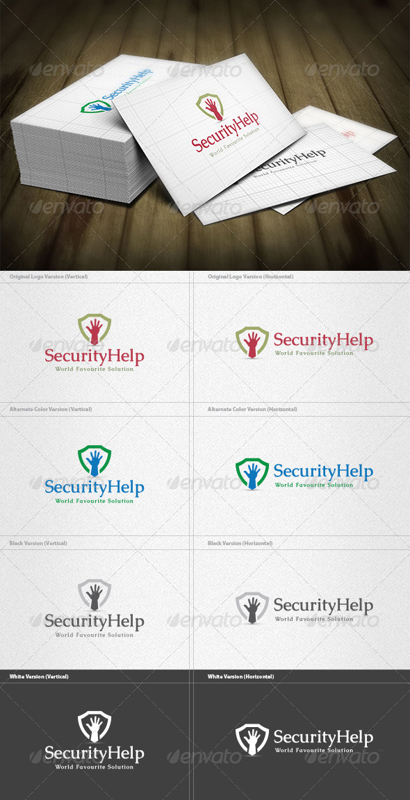GraphicRiver Security Help Logo 4525340