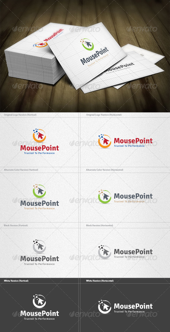 GraphicRiver Mouse Point Logo 4525357