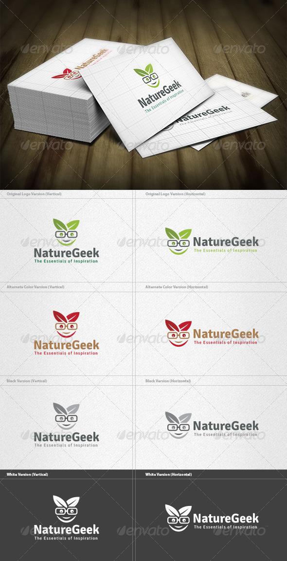 GraphicRiver Nature Geek Logo 4525392