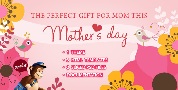 ThemeForest Mamalove Email Template 4526001