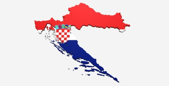 3DOcean Croatia Map 4526060
