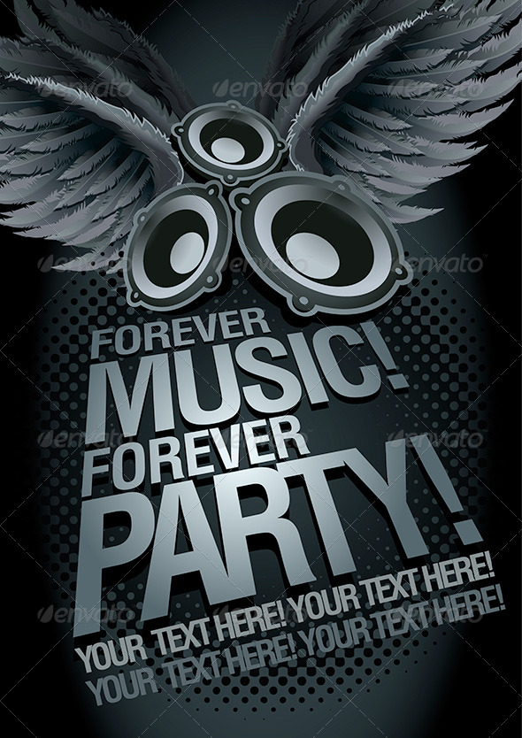 GraphicRiver Music Concept Poster Template 4526199