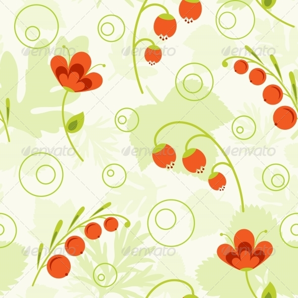 GraphicRiver Nature Seamless Pattern 4526403