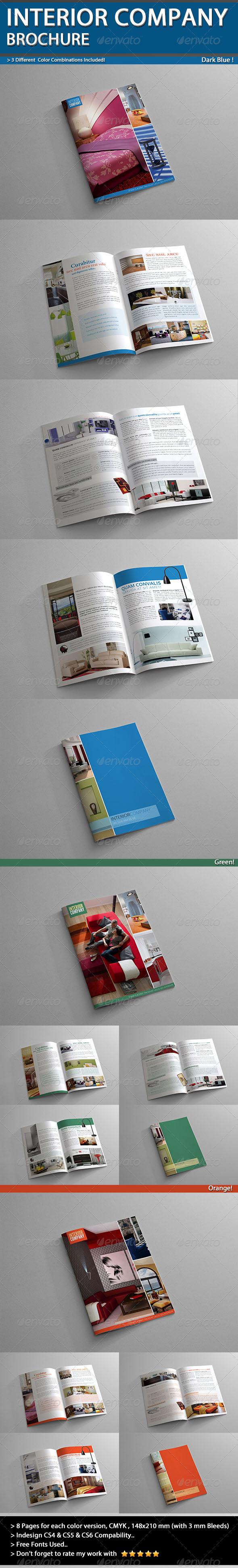 GraphicRiver Interior Company Brochure A5 V01 4526451