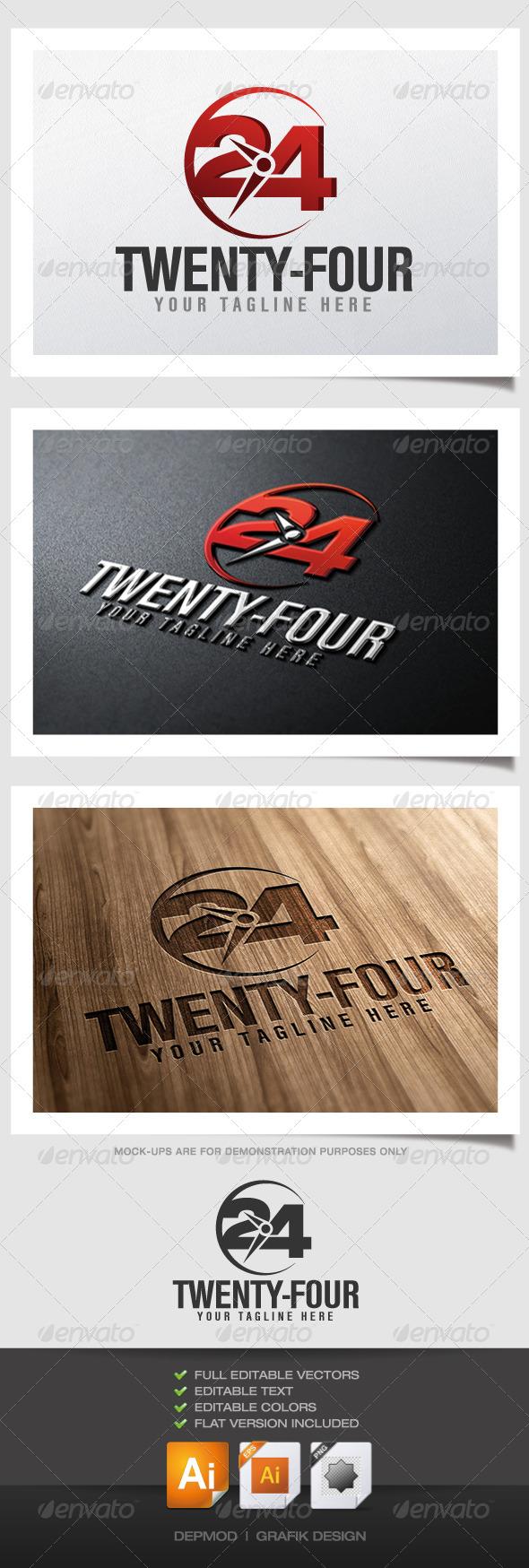 GraphicRiver Twenty Four Logo 4526510