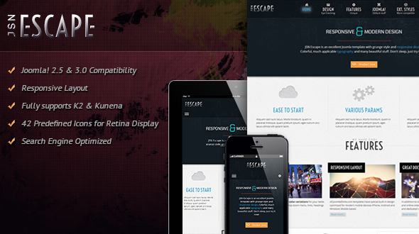 JSN Escape | Responsive Joomla Multipurpose Theme