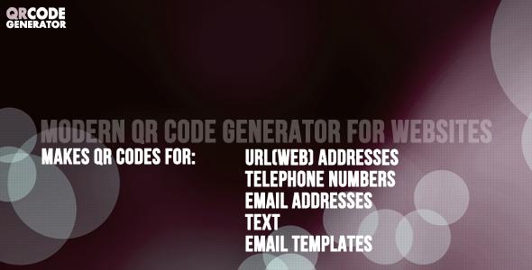 CodeCanyon QR Code Generator and Plugin 4527095