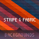 Stripe & Fabric Texture Backgrounds - GraphicRiver Item for Sale
