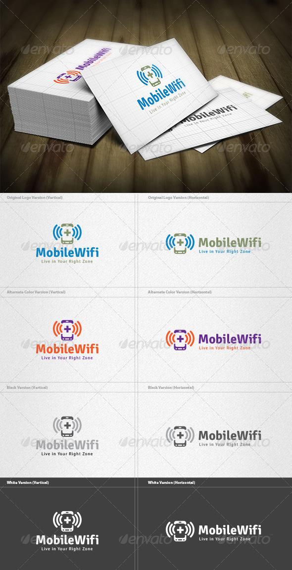 GraphicRiver Mobile Wifi Logo 4496202
