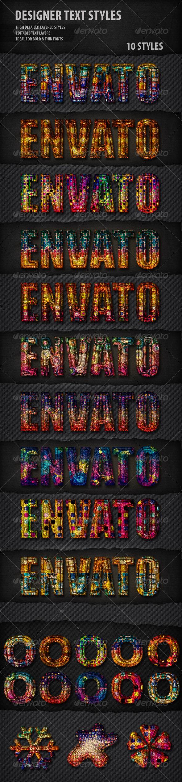 GraphicRiver Designer Text Styles 4528025