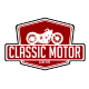 Classic Motor Logo Templates - GraphicRiver Item for Sale