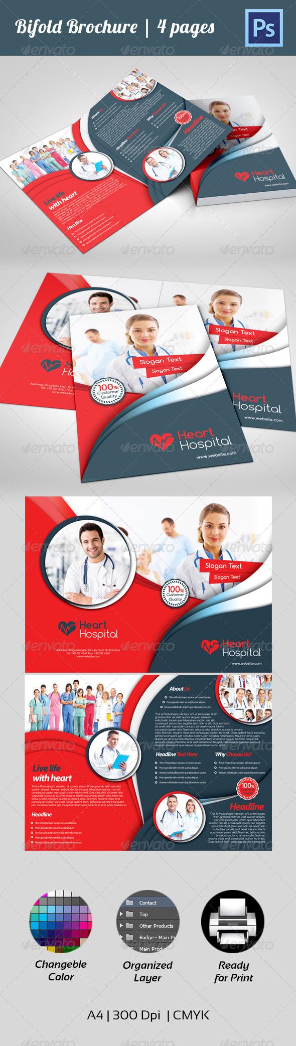 GraphicRiver Bifold Corporate Brochure 4438048