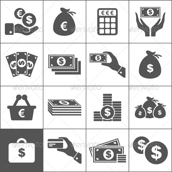 GraphicRiver Money an Icon 4529092