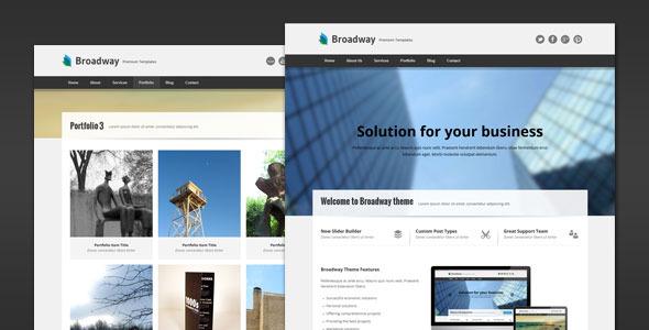 Broadway - Modern Business WordPress Theme