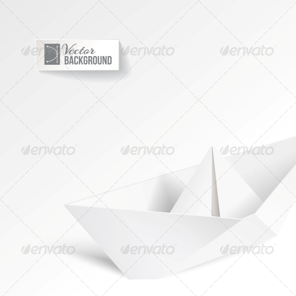GraphicRiver Paper Ship 4529271