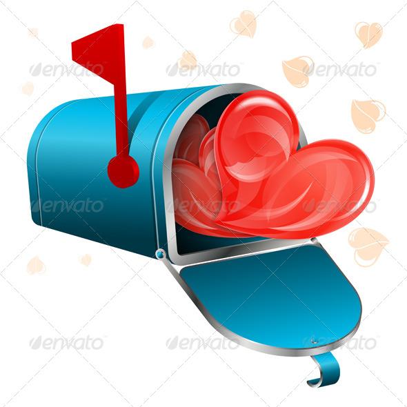 GraphicRiver Love Letter Concept 4529889