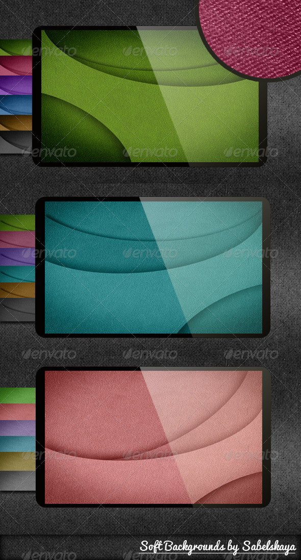 GraphicRiver 18 Soft Backgrounds 4530007